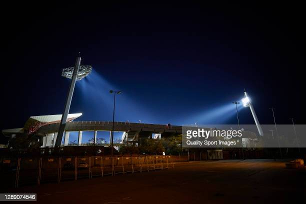 General view outside Nuevo Los Carmenes Stadium prior training session ahead of the UEFA Europa League Group E stage match between PSV Eindhoven and...