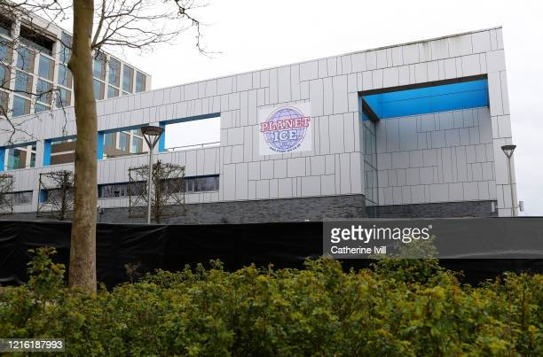 General view outside of Planet Ice Rink on April 01, 2020 in Milton Keynes, England. It has been reported that the ice rink may be used as a...