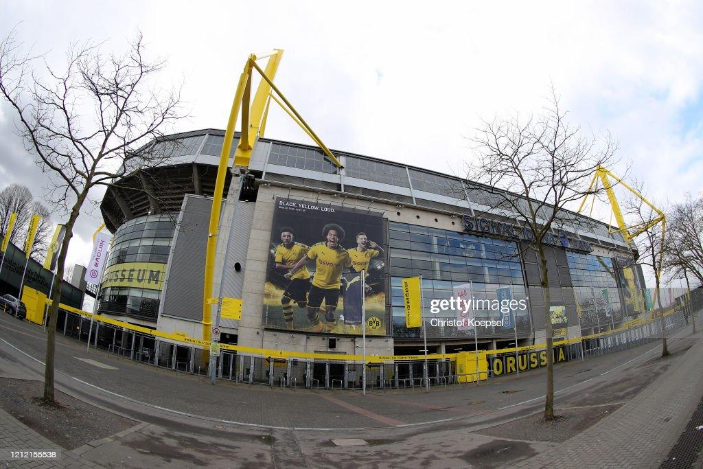 Bundesliga Matchday 26 Will Be Played Behind Closed Doors Despite The Coronavirus Spread : News Photo