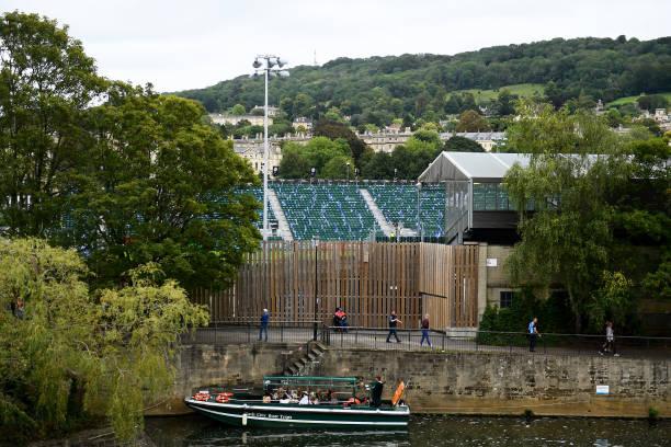 GBR: Bath v Newcastle Falcons - Gallagher Premiership Rugby