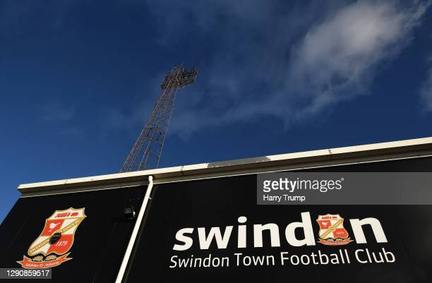 General view outside of the stadium prior to kick off during the Sky Bet League One match between Swindon Town and Fleetwood Town at the County...