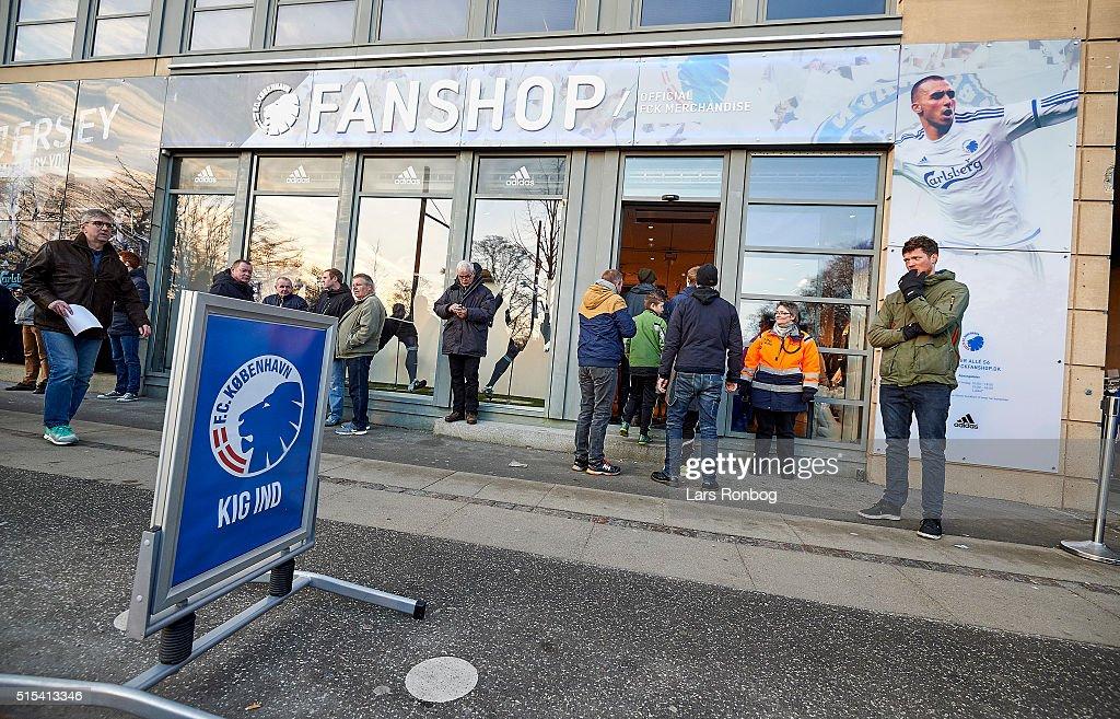 FC Copenhagen vs AaB Aalborg - Danish Alka Superliga : News Photo