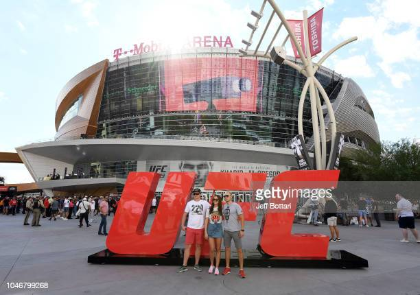 General view outside of the UFC 229 Fan Experience prior to the UFC 229 event inside T-Mobile Arena on October 6, 2018 in Las Vegas, Nevada.