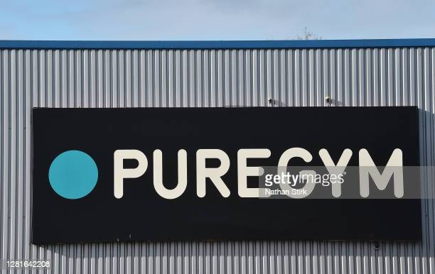 A general view outside PureGym as it remains open as StokeonTrent prepares to move to High Covid Alert Level on October 22 2020 in Hanley StokeonTrent