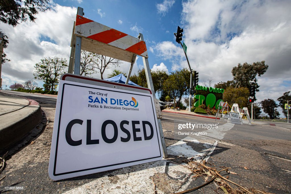 Entertainment Venues Remain Closed In San Diego Due To Restrictive Coronavirus Measures : News Photo