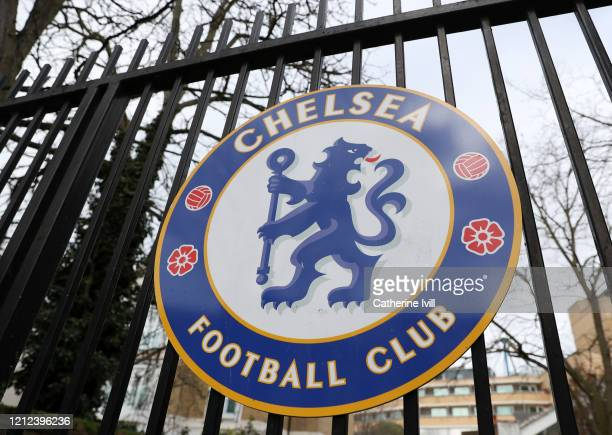 General view outside Stamford Bridge stadium home of Chelsea. All Premier League matches are postponed until at least April 3rd due to the...