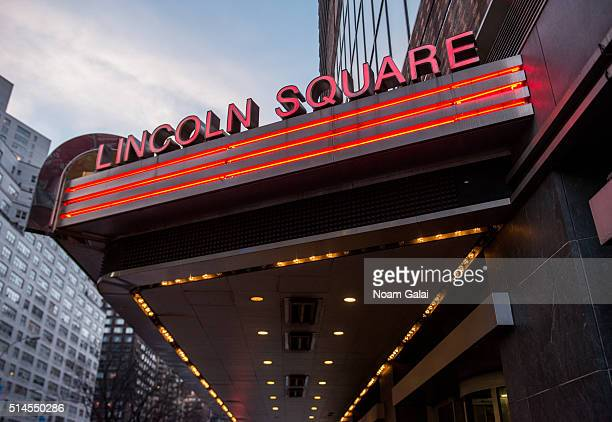 General view outside the 'Eye In The Sky' New York premiere at AMC Loews Lincoln Square 13 theater on March 9 2016 in New York City