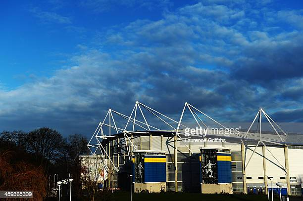 General view outside the ground before the Barclays Premier League match between Hull City and Manchester United at KC Stadium on December 26, 2013...