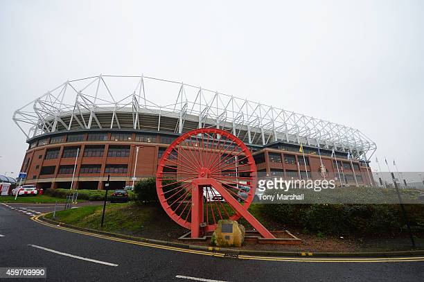 A general view outside the ground prior to the Barclays Premier League match between Sunderland and Chelsea at Stadium of Light on November 29 2014...