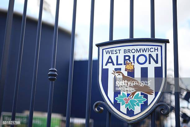 A general view outside the ground prior to the Barclays Premier League match between West Bromwich Albion and Liverpool at The Hawthorns on May 15...