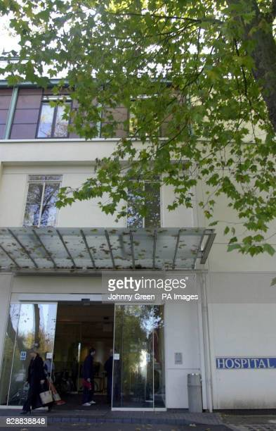 A general view outside the Hospital of St John and St Elizabeth in St John's Wood north London where Sir Paul McCartney s wife Heather Mills has...