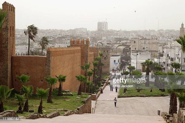 A general view outside the Kasbah Des Oudayas on day two of a three day visit to Morocco on April 5 2011 in Rabat Morocco Camilla Duchess of Cornwall...