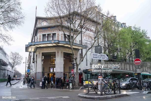 General view outside the 'Notre Enfant' Paris Premiere at the Le Louxor cinema in the 10th quarter of Paris on April 12 2018 in Paris France