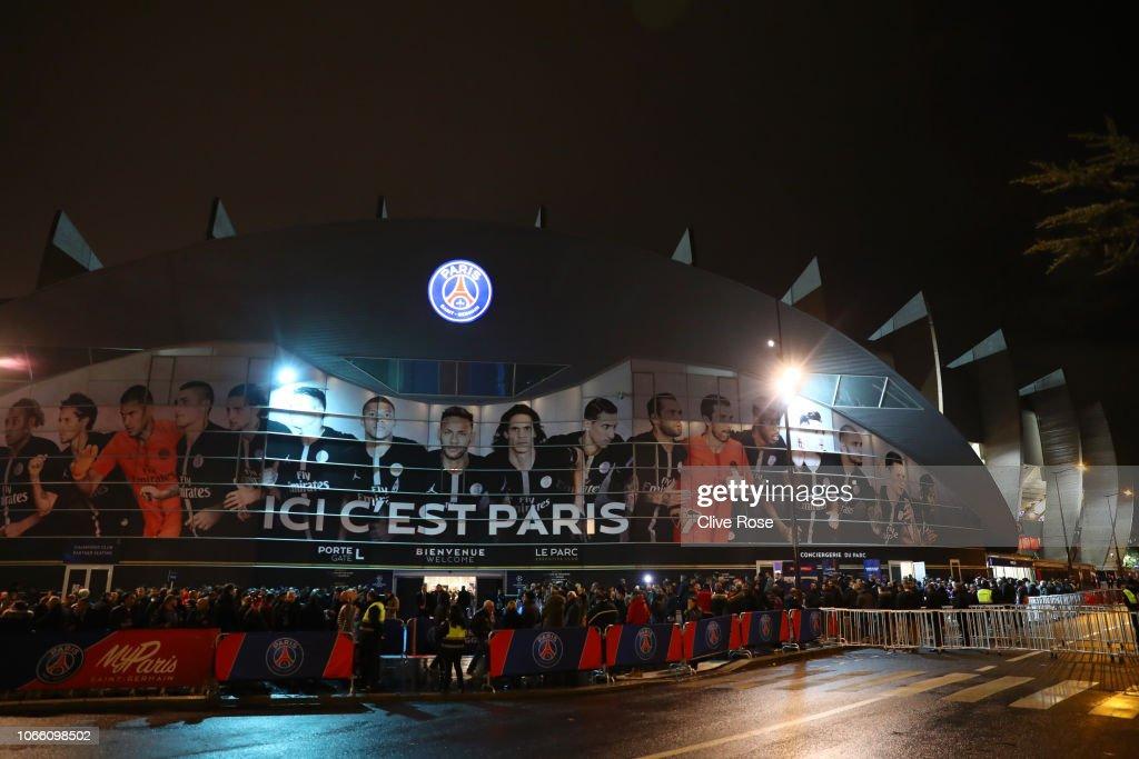 FRA: Paris Saint-Germain v Liverpool - UEFA Champions League Group C
