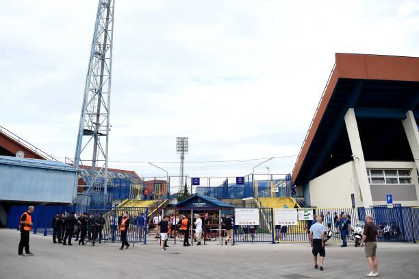 HRV: Dinamo Zagreb v West Ham United: Group H - UEFA Europa League