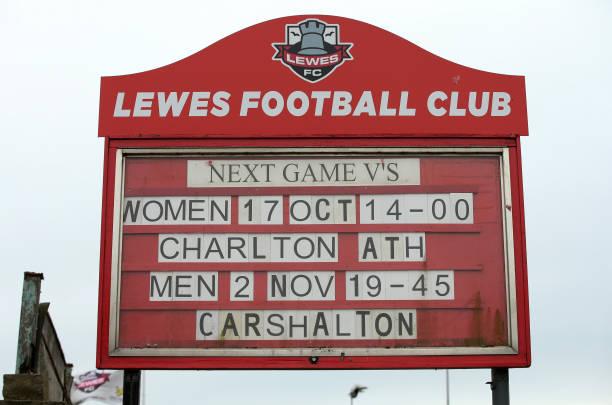 GBR: Lewes Women v Charlton Athletic Women - Barclays FA Women's Championship