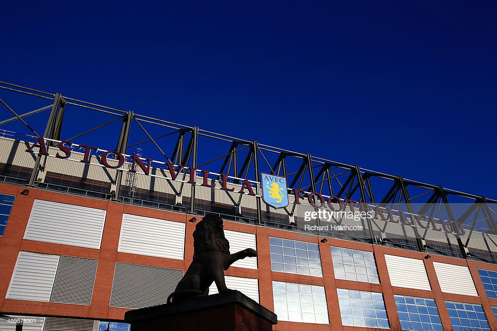A general view outside the stadium during the Barclays Premier League match between Aston Villa and Swansea City at Villa Park on December 28, 2013 in Birmingham, England.