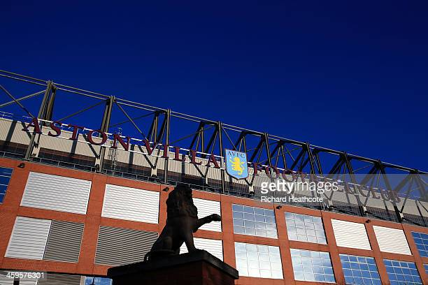 A general view outside the stadium during the Barclays Premier League match between Aston Villa and Swansea City at Villa Park on December 28 2013 in...