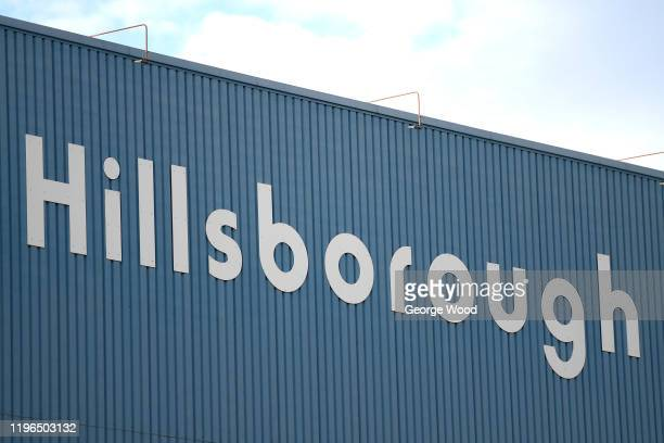General view outside the stadium during the Sky Bet Championship match between Sheffield Wednesday and Cardiff City at Hillsborough Stadium on...