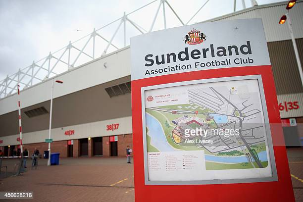 A general view outside the Stadium of Light is seen prior to the Barclays Premier League match between Sunderland and Stoke City at Stadium of Light...