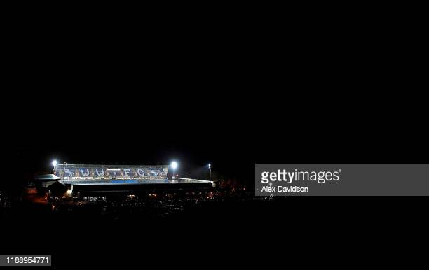 General view outside the stadium prior to the FA Cup First Round Replay between Wycombe Wanderers and Tranmere Rovers at Adams Park on November 20,...