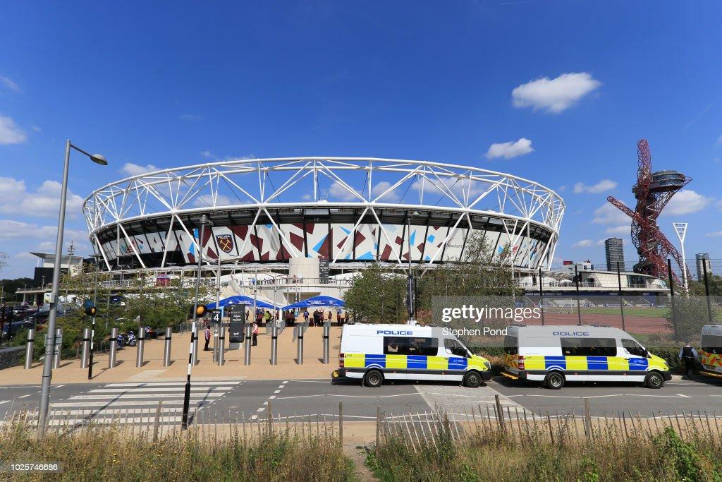 West Ham United v Wolverhampton Wanderers - Premier League : Nachrichtenfoto
