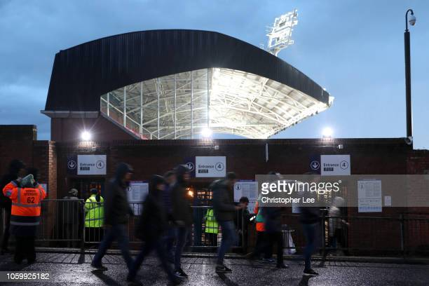 General view outside the stadium prior to the Premier League match between Crystal Palace and Tottenham Hotspur at Selhurst Park on November 10 2018...