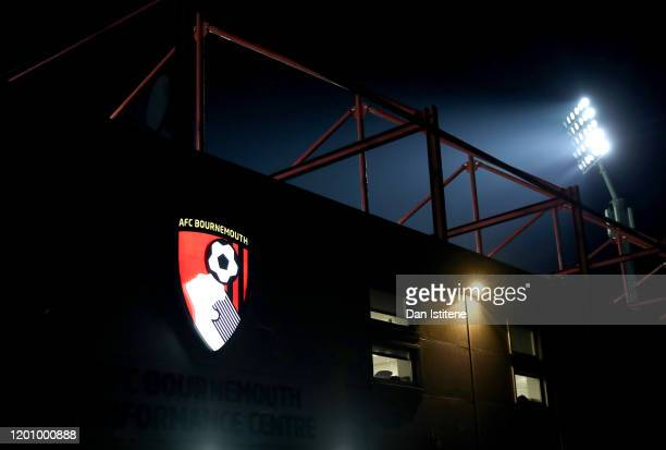 General view outside the stadium prior to the Premier League match between AFC Bournemouth and Brighton & Hove Albion at Vitality Stadium on January...