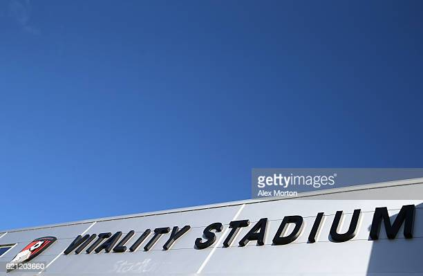 A general view outside the stadium prior to the Premier League match between AFC Bournemouth and Sunderland at Vitality Stadium on November 5 2016 in...