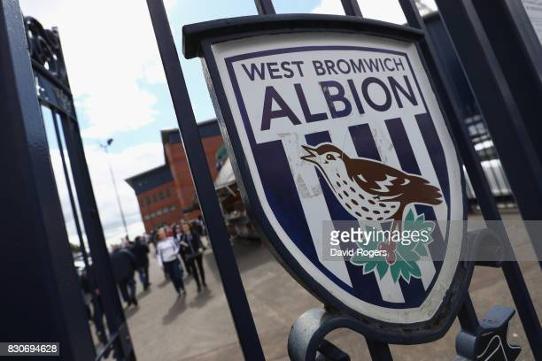 General view outside the stadium prior to the Premier League match between West Bromwich Albion and AFC Bournemouth at The Hawthorns on August 12...