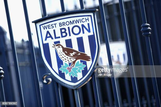 General view outside the stadium prior to the Premier League match between West Bromwich Albion and Stoke City at The Hawthorns on August 27 2017 in...