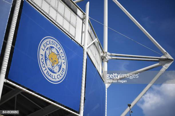 General view outside the stadium prior to the Premier League match between Leicester City and Chelsea at The King Power Stadium on September 9 2017...