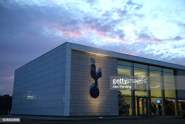 A general view outside the Tottenham Hotspur training centre following the UEFA Youth Champions League match between Tottenham Hotspur FC and PFC...