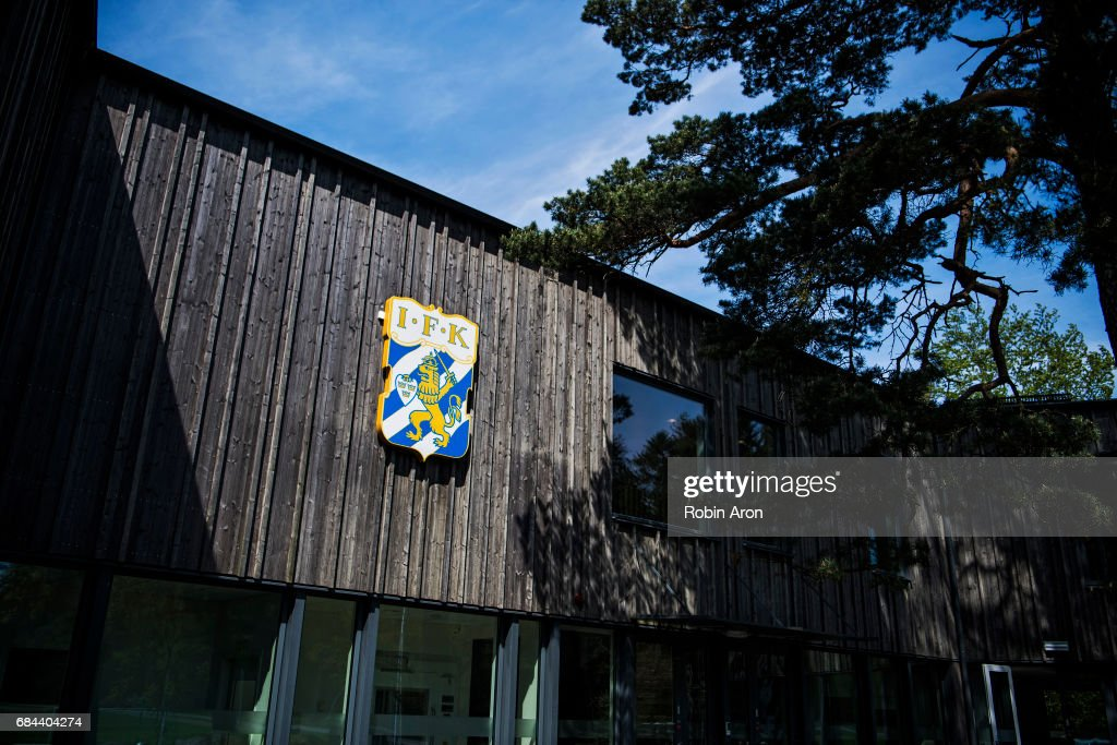 General view over IFK Goteborgs training center Kamratgarden after it was announced that the the Allsvenskan match between IFK Goteborg and AIK is cancelled due to suspicions of match fixing, on May 18, 2017 in Gothenburg, Sweden.