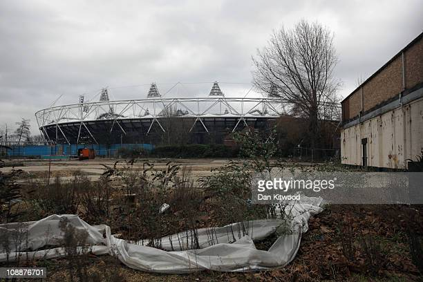A general view over wasteland of the Olympic Stadium at Stratford on February 7 2011 in London England A decision by the Olympic Park Legacy Company...