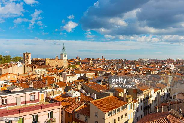 perpignan: general view (france) - perpignan stock photos and pictures