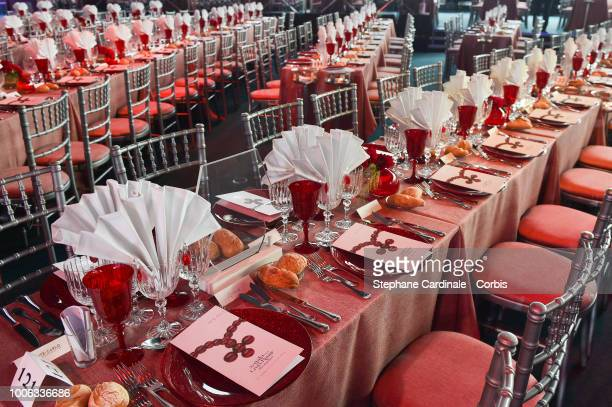 General view prior the 70th Monaco Red Cross Ball Gala on July 27 2018 in MonteCarlo Monaco