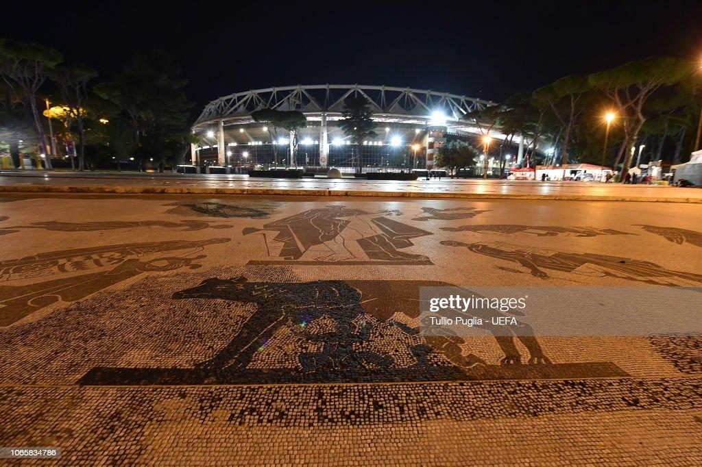 ITA: AS Roma v Real Madrid  - UEFA Champions League Group G