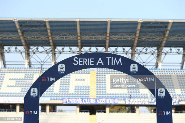 General view prior the serie A match between Empoli and Cagliari at Stadio Carlo Castellani on August 19 2018 in Empoli Italy