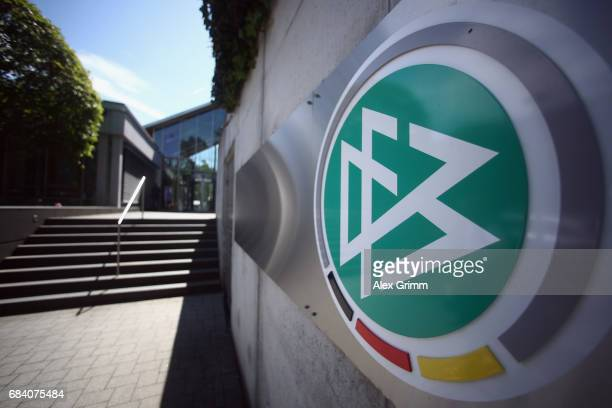 General view prior to a press conference at the DFB headquarters on May 17, 2017 in Frankfurt am Main, Germany.