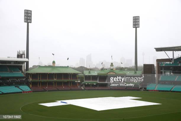 General view prior to day one of the four day tour match between the Cricket Australia XI and India at Sydney Cricket Ground on November 28 2018 in...
