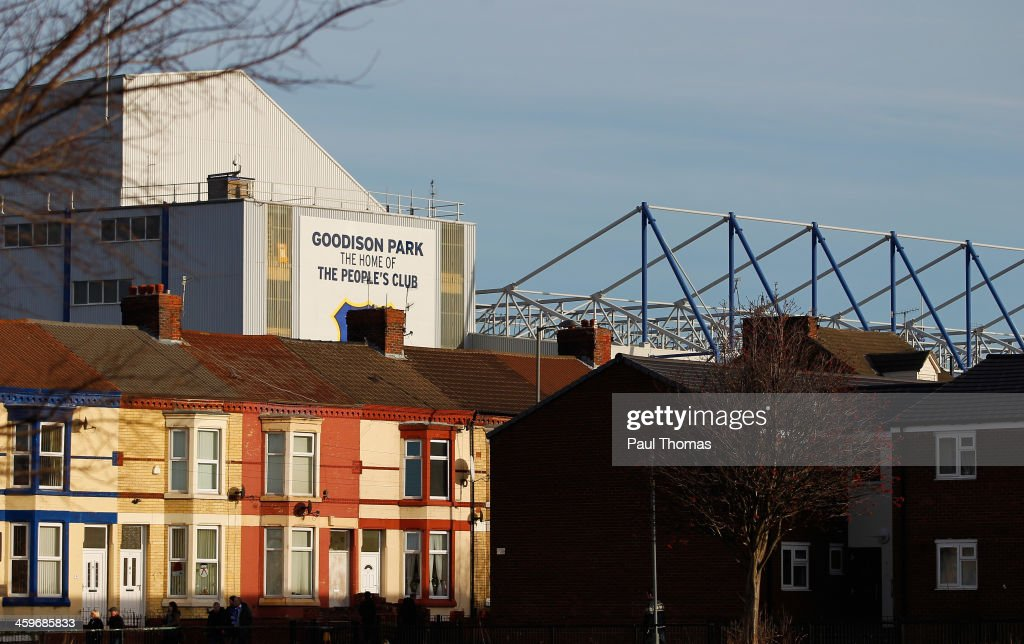 General View prior to the Barclays Premier League match between Everton and Southampton at Goodison Park on December 29, 2013 in Liverpool, England.