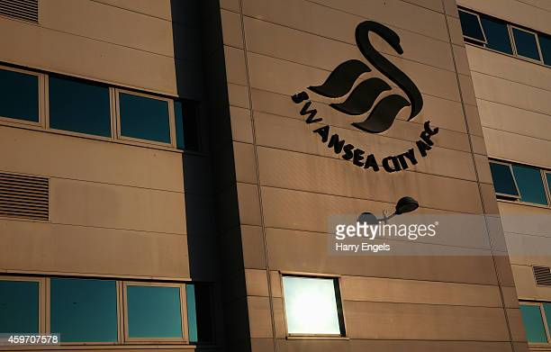 A general view prior to the Barclays Premier League match between Swansea City and Crystal Palace at Liberty Stadium on November 29 2014 in Swansea...