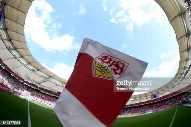 General view prior to the Bundesliga match between VfB Stuttgart and 1 FSV Mainz 05 at MercedesBenz Arena on August 26 2017 in Stuttgart Germany