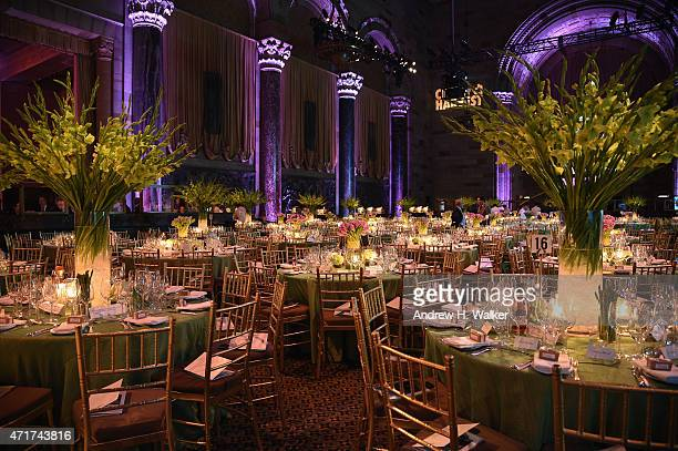 General view prior to the City Harvest's 21st Annual Gala An Evening Of Practical Magic at Cipriani 42nd Street on April 30 2015 in New York City