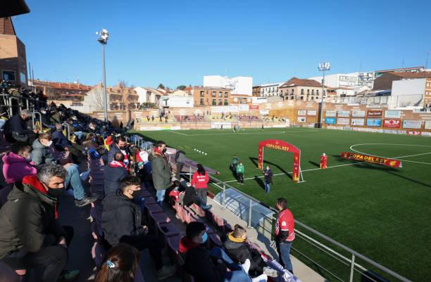 ESP: CDA Navalcarnero v SD Eibar - Copa del Rey