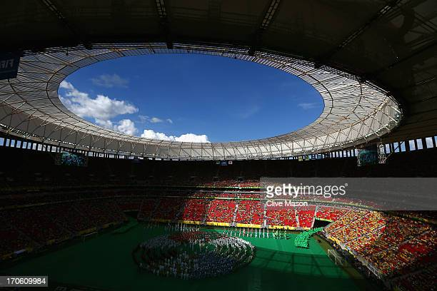 General View prior to the FIFA Confederations Cup Brazil 2013 Group A match between Brazil and Japan at National Stadium on June 15 2013 in Brasilia...
