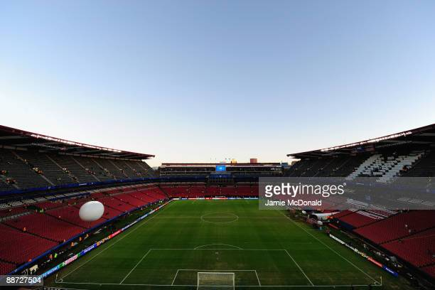 General View prior to the FIFA Confederations Cup Final match beween Brazil and USA at Ellis Park on June 28 2009 in Johannesburg South Africa
