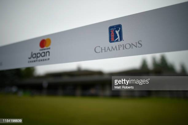 A general view prior to the first round of the Mastercard Japan Championship at Narita Golf Club on June 07 2019 in Narita Chiba Japan