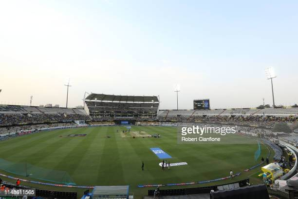 General view prior to the Indian Premier League Final match between the the Mumbai Indians and Chennai Super Kings at Rajiv Gandhi International...